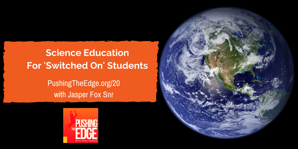Getting your students psyched for Science > Listen to #PushingTheEdge >> http://t.co/uRpoSVEGW4 #whatisschool #edchat http://t.co/MXpuWReX6E
