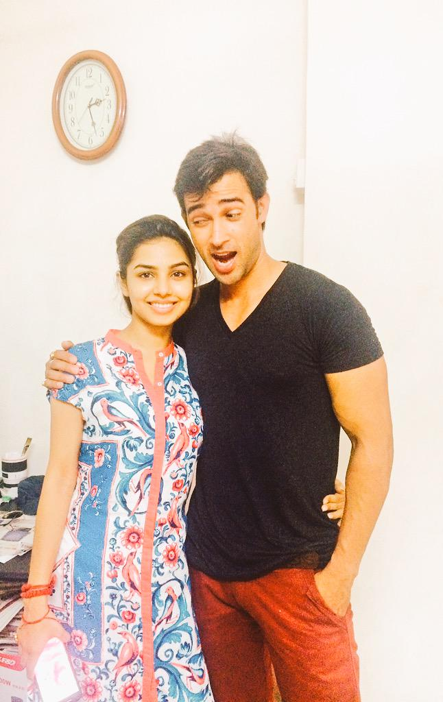 Karan Sharma with girlfriend Tiaara
