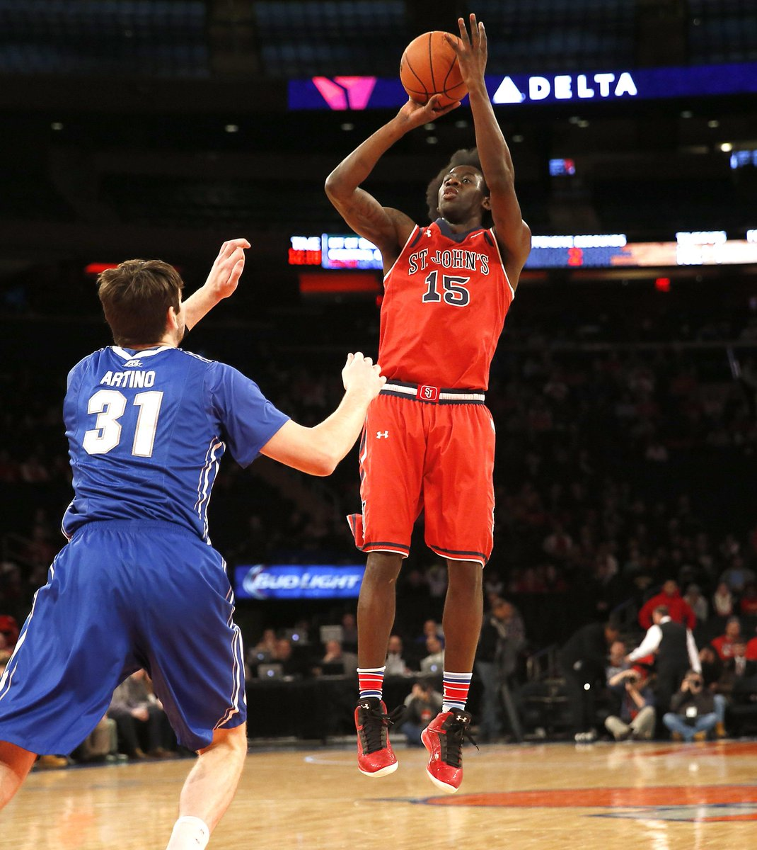 .@StJohnsBBall Sir'Dominic Pointer selected by the @cavs with the 53rd pick in the NBA Draft #SJUBB http://t.co/0CKFASqBOg