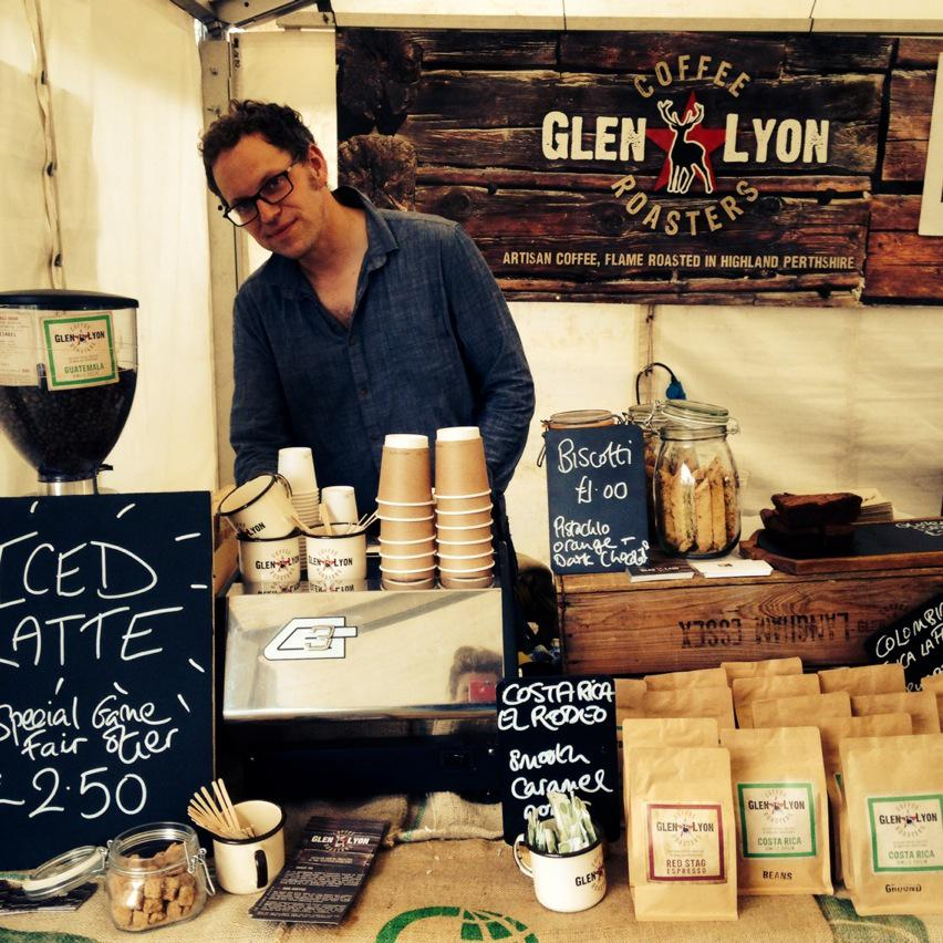 Iced lattes going down a storm at Scottish Game Fair today @ScotGameFair #SGF2015 http://t.co/Nvi7QsMB9E