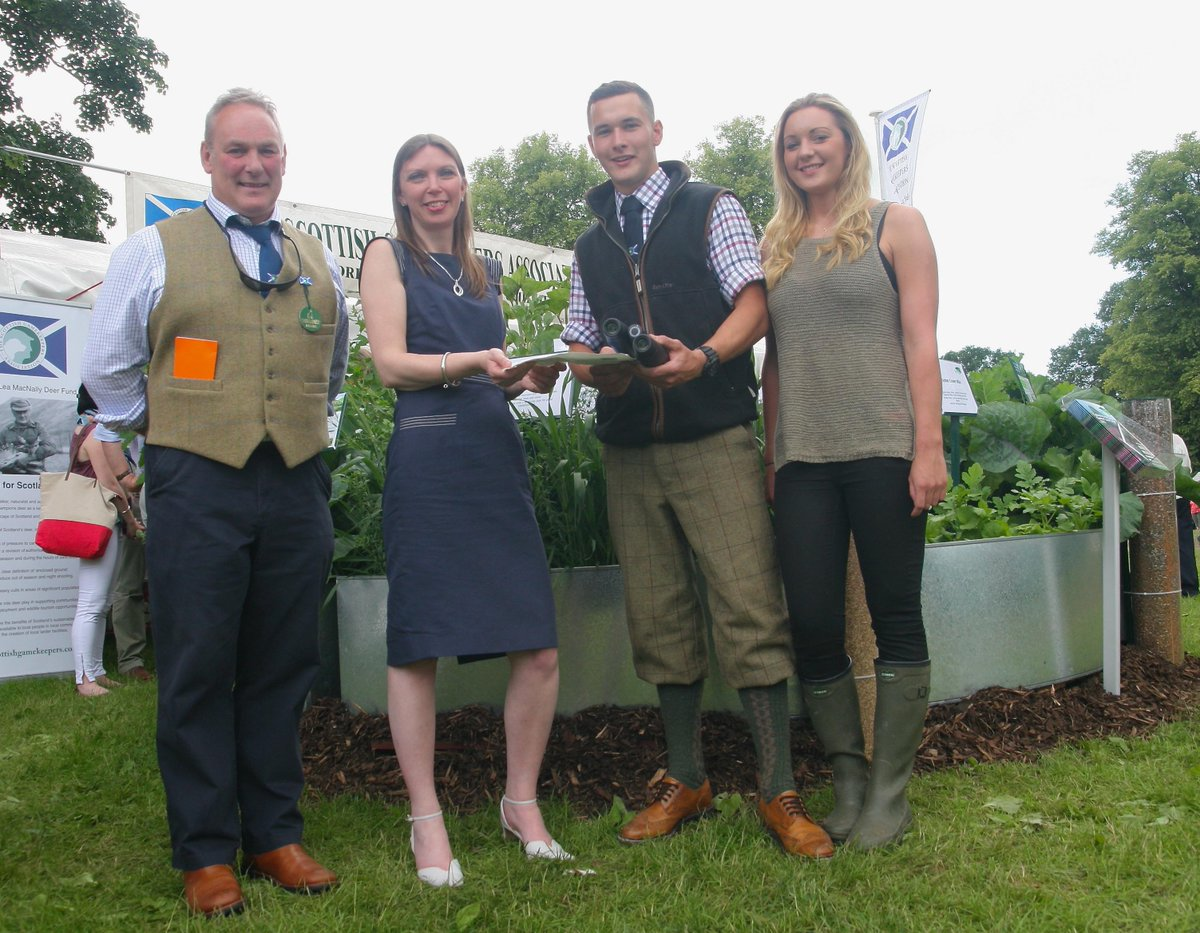 NEWS from @ScotGameFair : SGA Young #Gamekeeper of the Year 2015 announced by @AileenMcLeodMSP http://t.co/eL7aBK5L15 http://t.co/4pG25qfej5