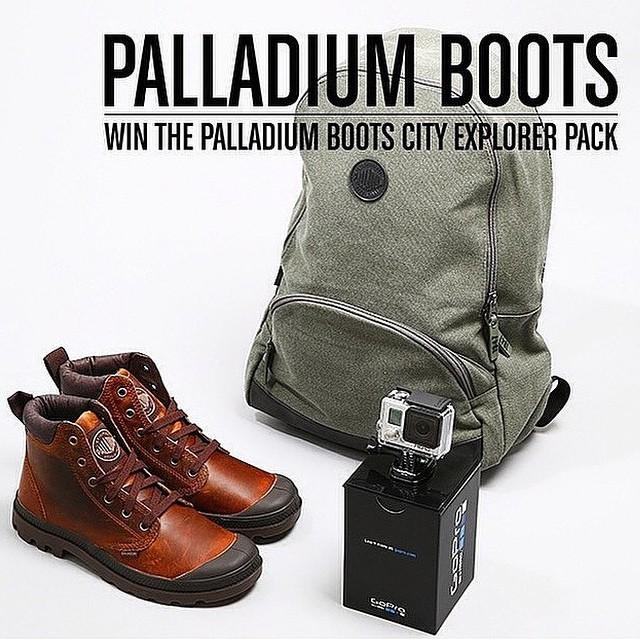 Still time to enter our competition with @palladium_boots. To enter simple repost this ima… http://t.co/RsuB449r0T http://t.co/PZAfpw4MjT