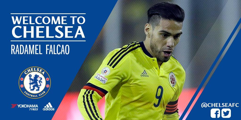 Oficial: ¡Radamel Falcao nuevo delantero del Chelsea!