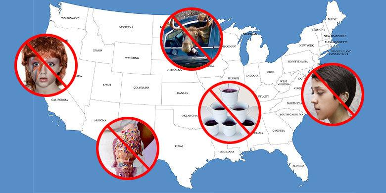 Some Of The Most Bizarre State Laws In America still In Existence That Will Mess With Your… http://t.co/ml1L9VgXha http://t.co/I81xuhR9kH