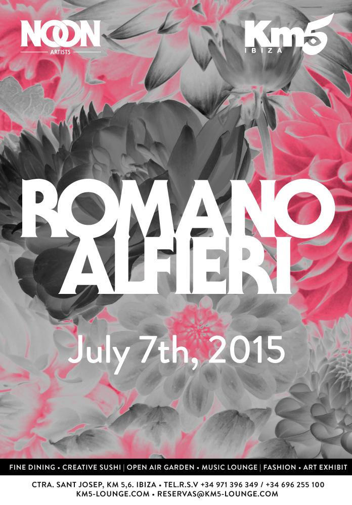 RT @NoonArtists: Ibiza!!! Save your date this July 7th, @romanoalfieri is playing at the amazing @km5lounge  See you there! #Ibiza2015 http…