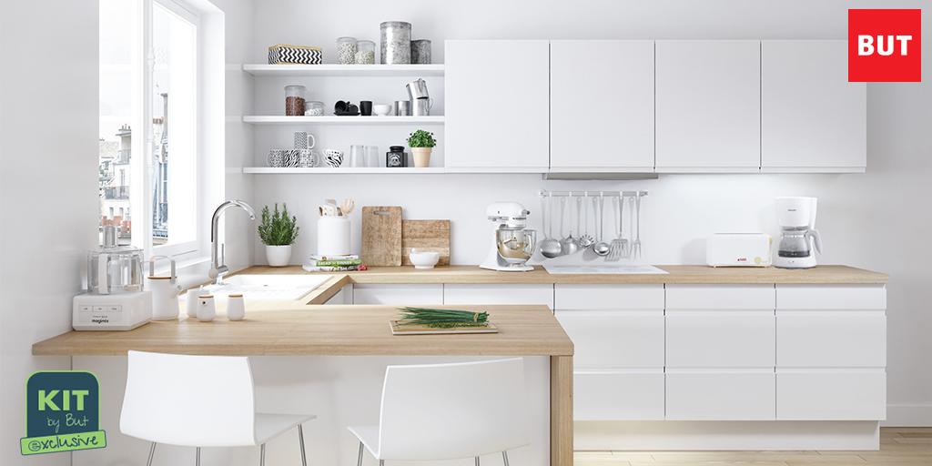 """magasins but 🛋 on twitter: """"la #cuisine loft en kit : épurée"""