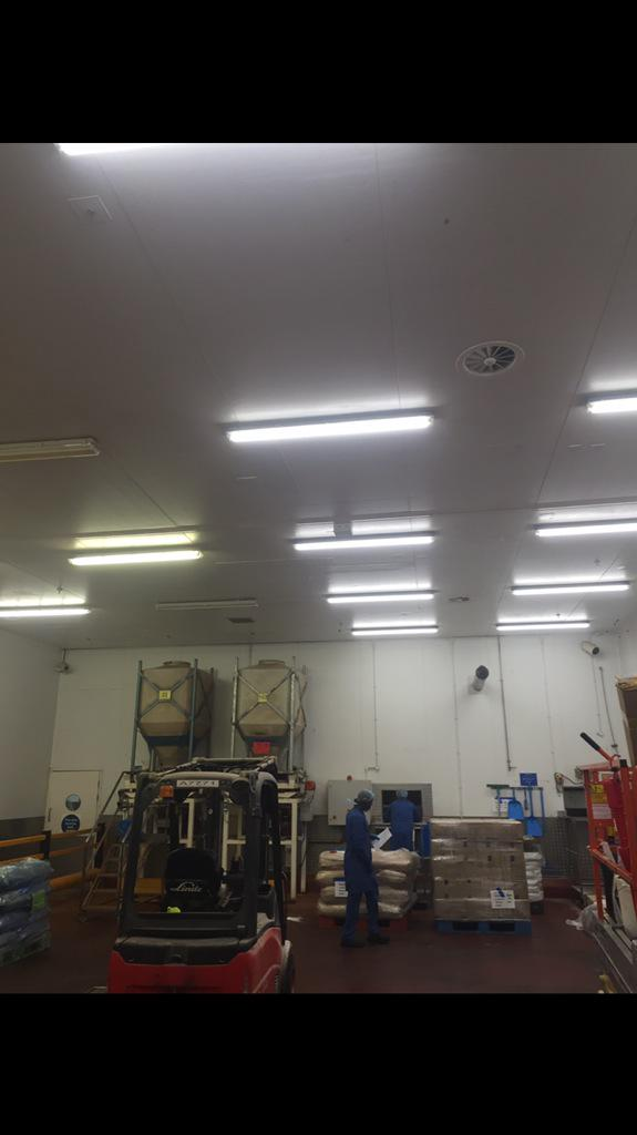 Tagra Lighting on Twitter  Before and after our #ledtubes installed at Pataks Curry Factory - doubled lux levels #sustainability #led #lighting ... & Tagra Lighting on Twitter: