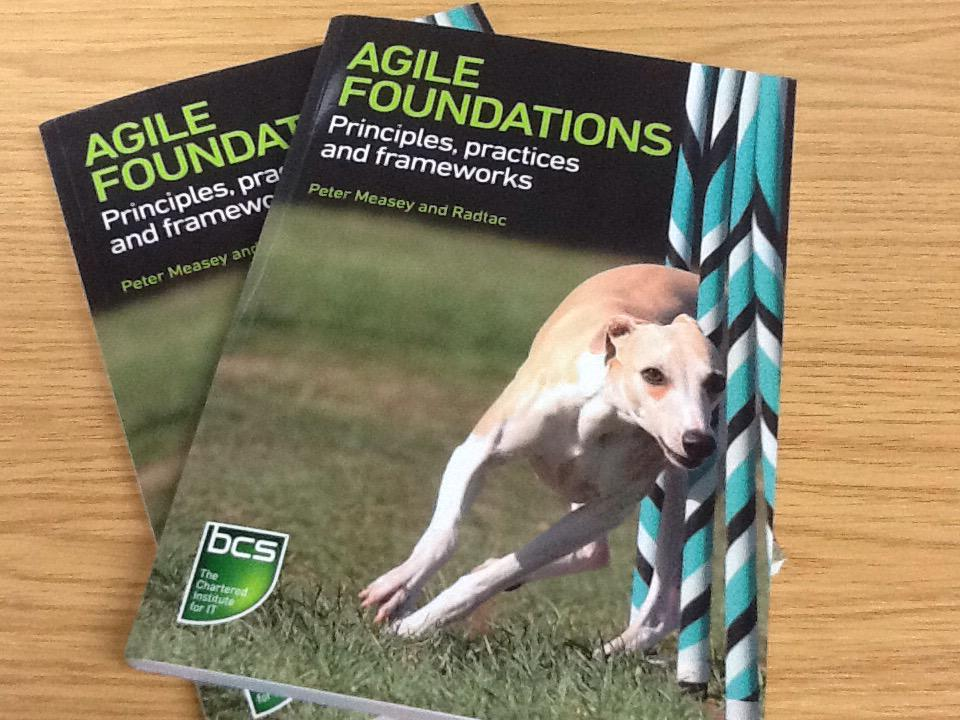 Win a copy of Agile Foundations!  Follow & RT by 4.30pm when we'll pick 2 people at random! #freebiefriday #agiletalk http://t.co/Ff1zzq8Zfk