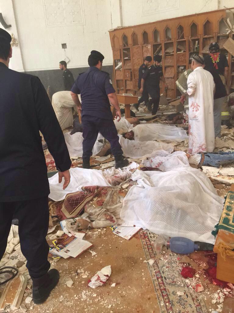 تفجير حسينية الامام الصادق في الصوابر الكويت