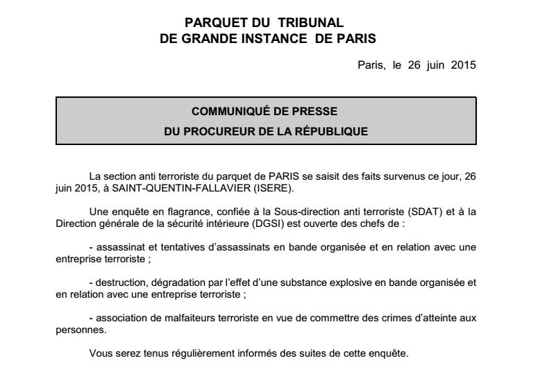 Nouvel attentat en France / attaque d'une usine  CIavXulWUAAFe9f
