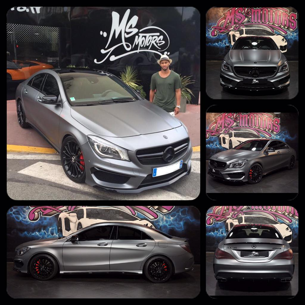 piero ms motors on twitter mercedes cla 45 amg gris mat by pieromsmotors msmotorscannes. Black Bedroom Furniture Sets. Home Design Ideas