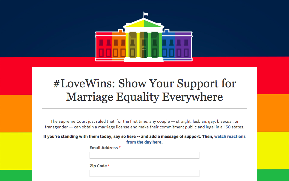 Thumbnail for #LoveWins