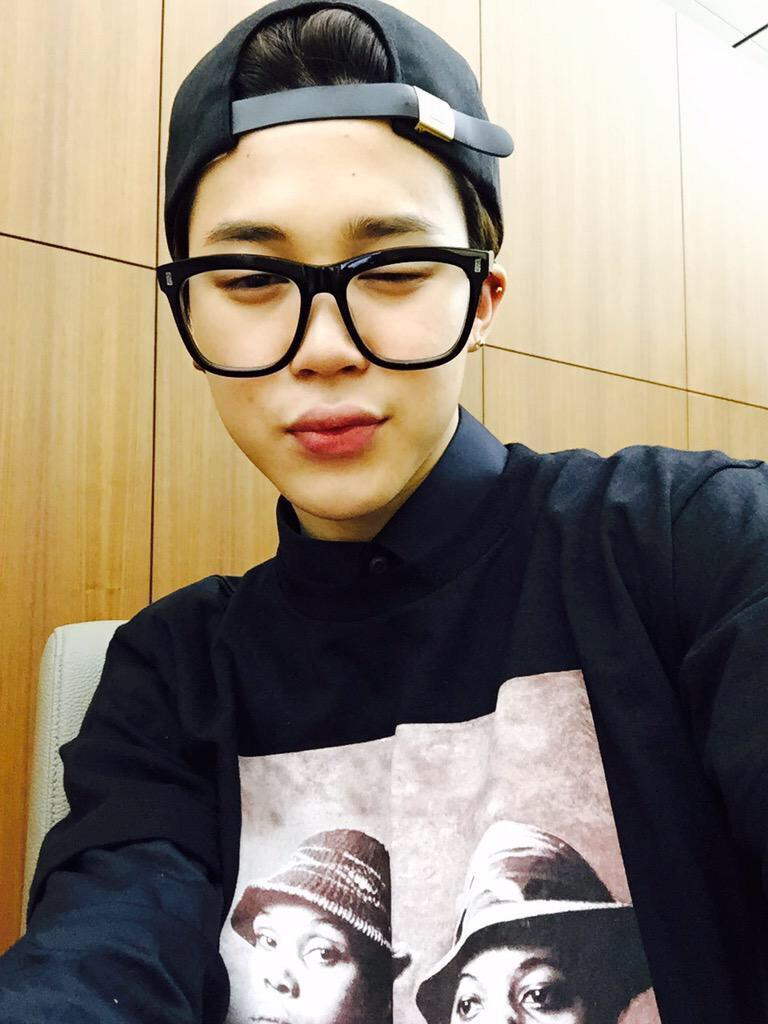 Bts In Glasses On Twitter Jimin Http T Co Rax4rif0a8
