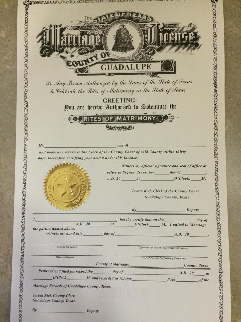 guadalupe county marriage records texas