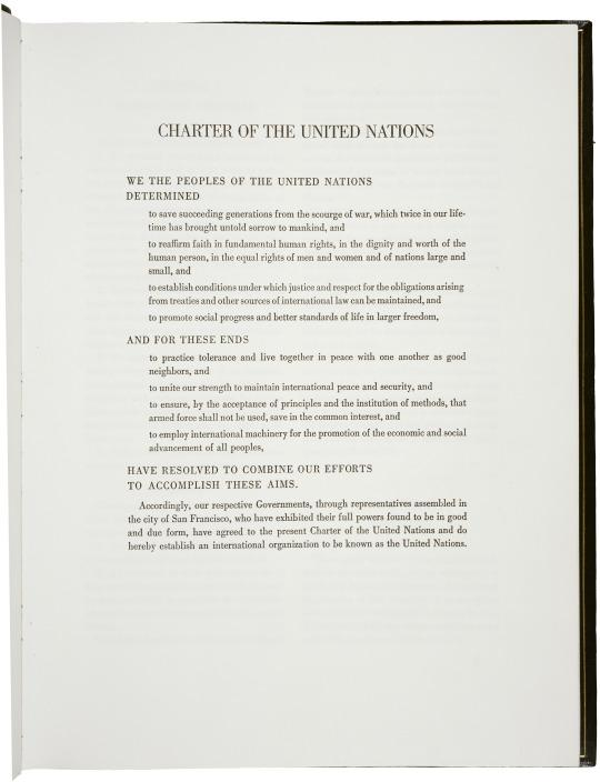 Charter of the #UnitedNations is signed 70 years ago 6/26/1945 #TDiH: http://t.co/pp3p3DInAi #UN70 @UN http://t.co/qdntpT8LNg