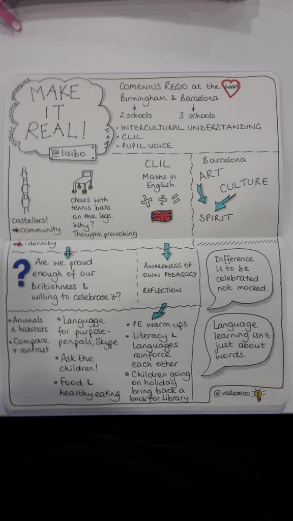 Make it real!  from @lisibo #sketchnote http://t.co/6fkbnNo0sx