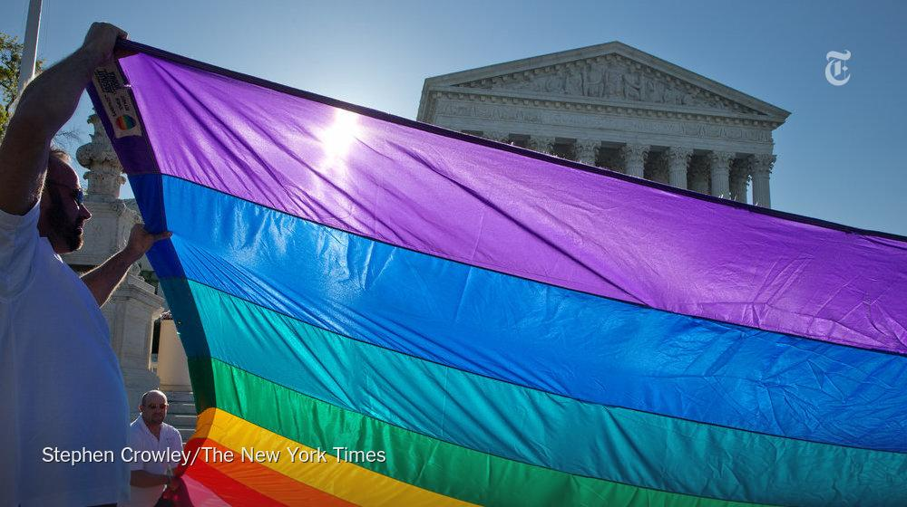 The Supreme Court ruled that the Constitution guarantees a nationwide right to gay marriage http://t.co/x07L3wSh5H