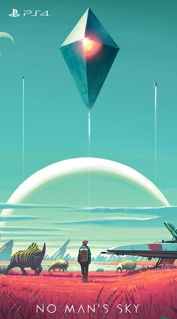 PlayStation On Twitter Just For You New No Mans Sky Wallpapers