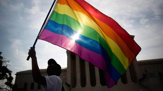 Thumbnail for Gay marriage now legal in all 50 states, Twitter reacts