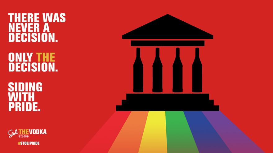 Raise a glass to equal parts. #StoliPride #SCOTUSMarriage #MarriageEquality http://t.co/kDjKgpiWz2