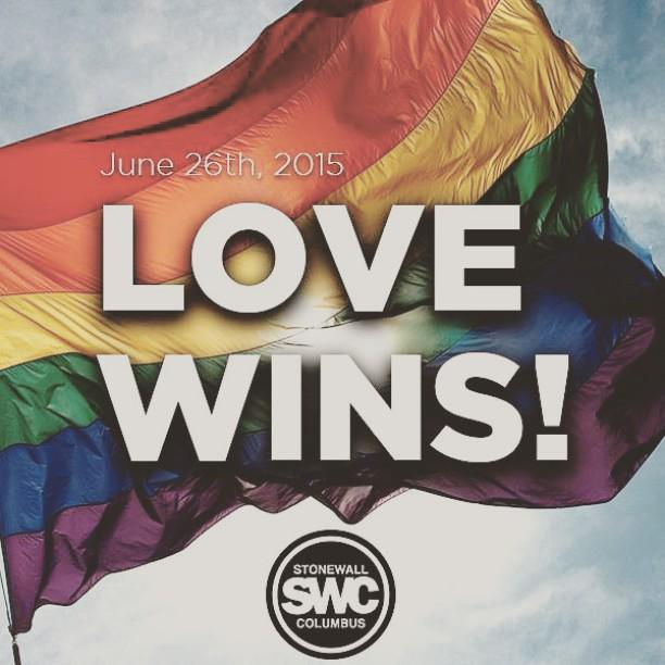 LOVE WINS. #loveislove #marriageequality #love #