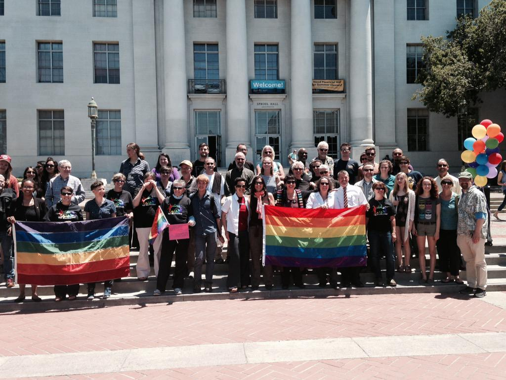 Thumbnail for UC Berkeley responds to today's SCOTUS decision #LoveWins