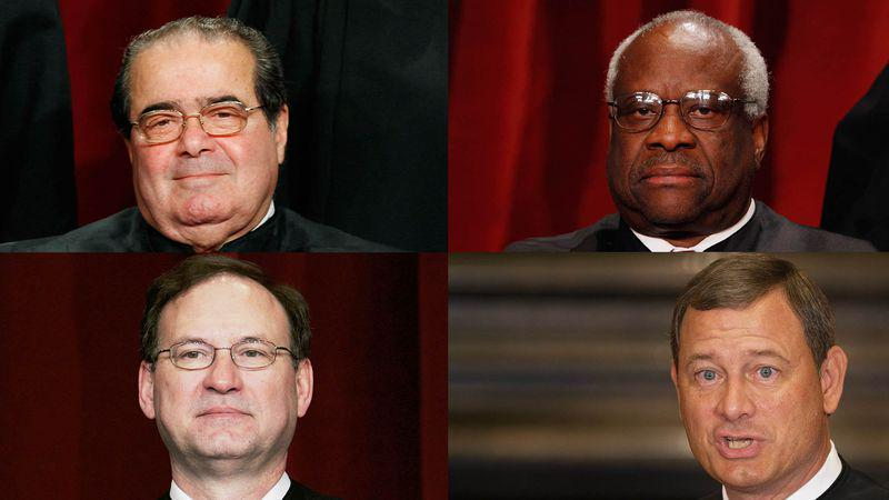 Scalia, Thomas, Roberts, Alito Realize They Will Be Villains In Oscar-Winning Movie One Day http://t.co/LDI374spgo
