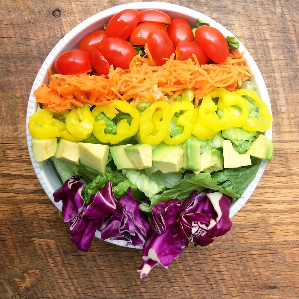 Our bowl is full of pride. #lovewins #justsalad http://t.co/jesHLJYs4Z