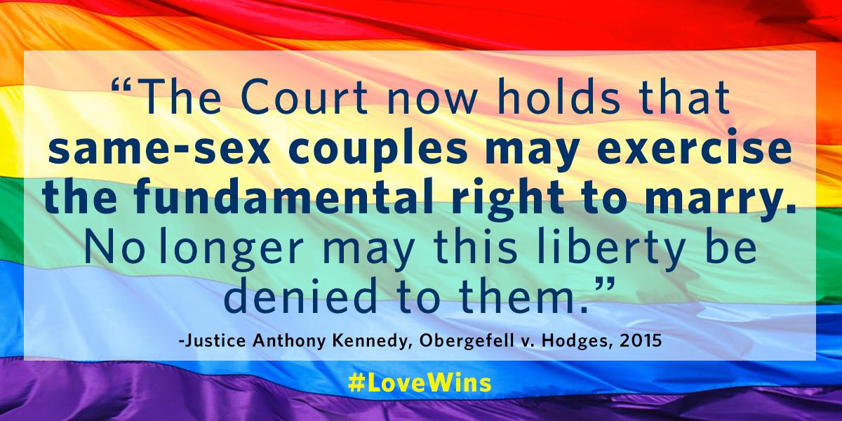 Obergefell was joined by several dozen other gay plaintiffs from Kentucky