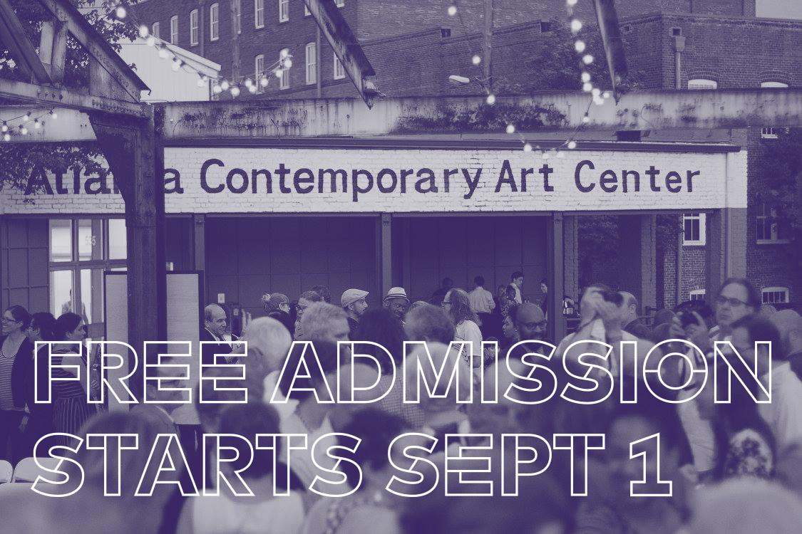 #Atlanta Contemporary announces #FREE ADMISSION every day starting Sept. 1. RT to spread the news! http://t.co/HdH22cvEET