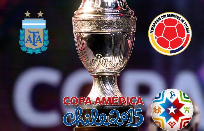 COLOMBIA-ARGENTINA info streaming calcio diretta tv Coppa America 2015