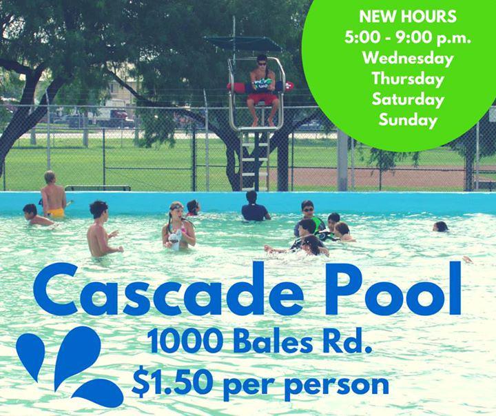 City Of Mcallen Tx On Twitter Cascade Pool Opens Tomorrow