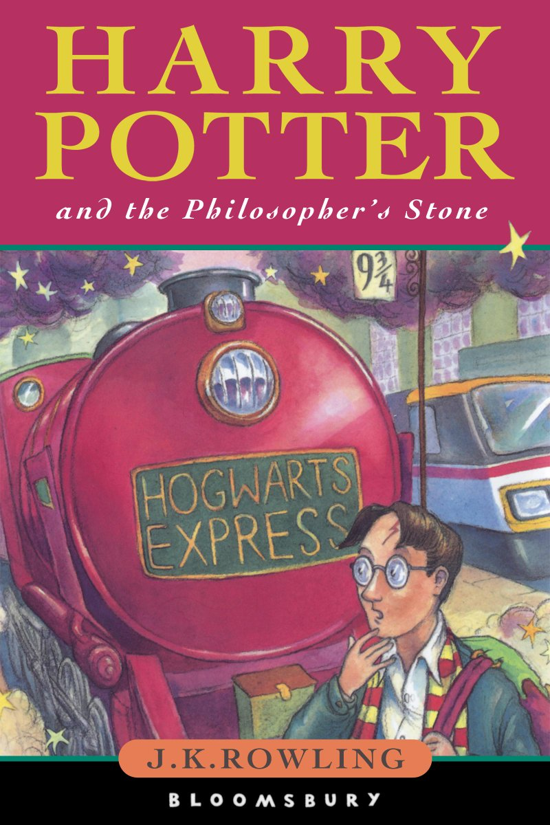 The first Harry Potter book was published in the UK today in 1997