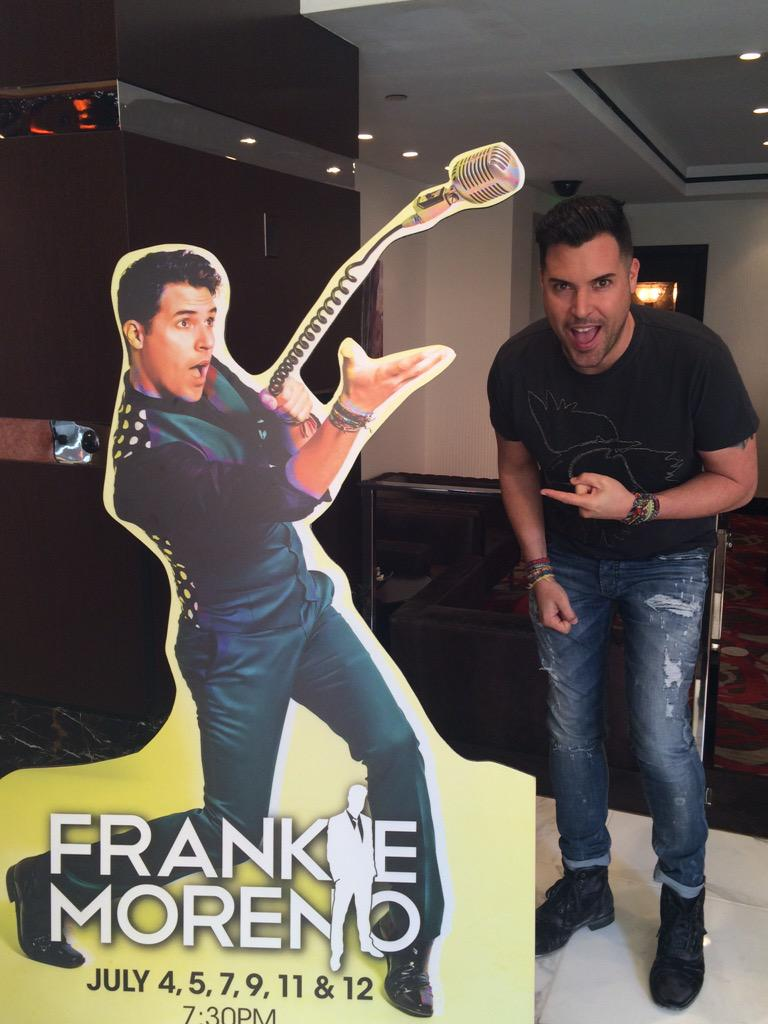 Look who stopped by today! Check out @frankiemoreno in our showroom this July! #homecoming #2015worldtour http://t.co/65ZhsXxN93