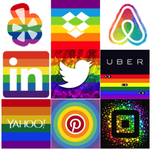 Love seeing Bay Area tech companies celebrating #LoveWins on Twitter. What a way to kick off #SFPride2015! http://t.co/yLB45VyHw1