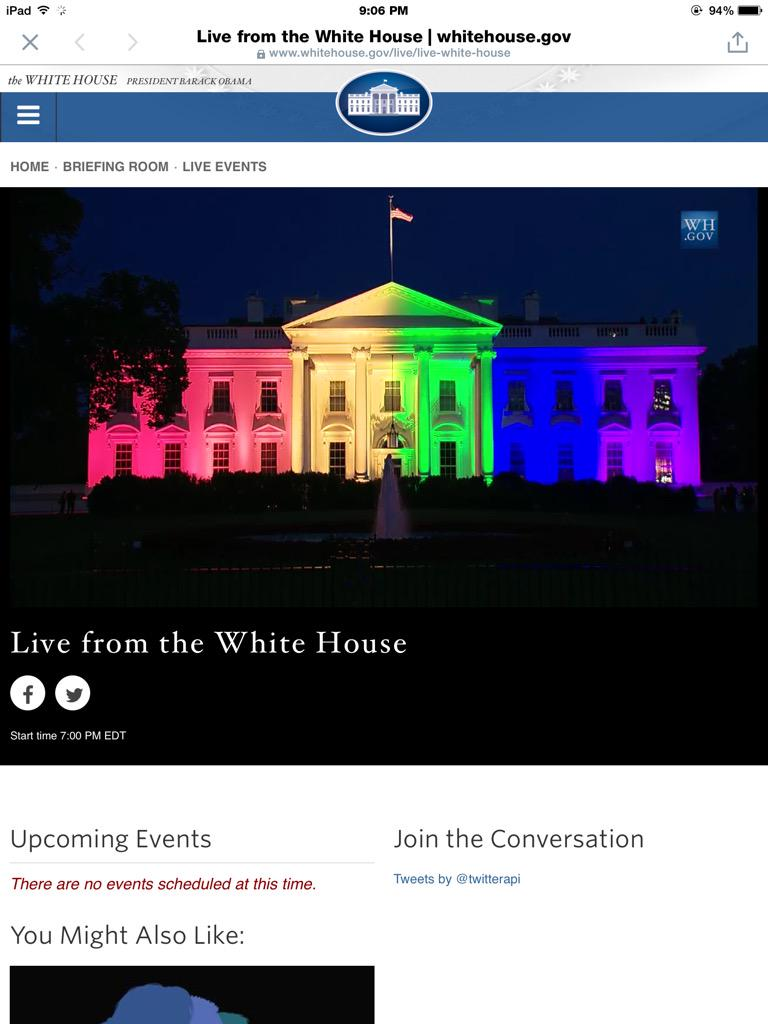 Awesome! You need to see the White House live:  https://t.co/54OGXf5QJ4 http://t.co/NMavEZVOVD