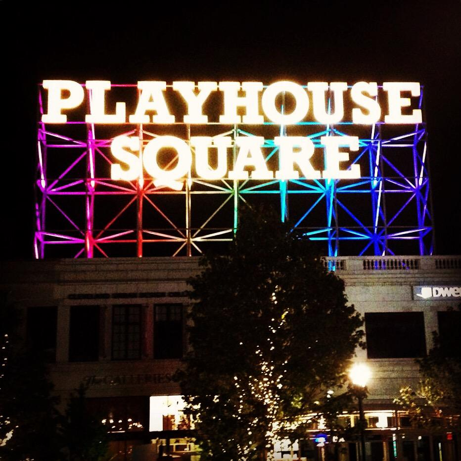 Current view. #ThisIsCLE #retrosign #playhousesquare http://t.co/lu3MR0fNUk