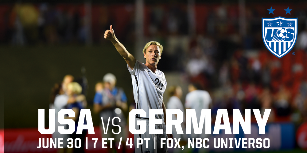 #SheBelieves the #USWNT are headed to Montreal! We are #OneNationOneTeam ready for the semifinals! #USAvGER http://t.co/DQXWMuwoTC