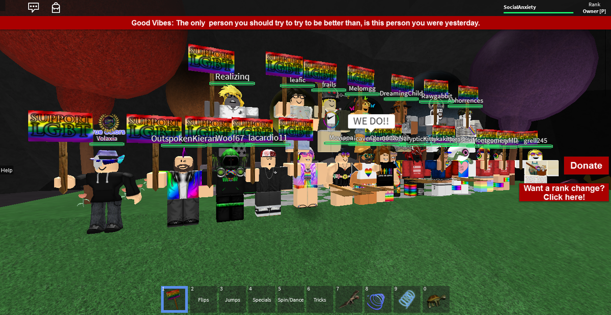 Alex Veganempress On Twitter Roblox Lovewins True Colors Group