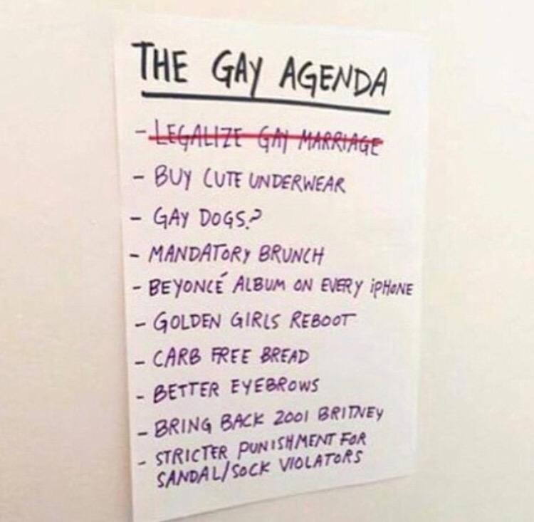 The gay agenda... http://t.co/AcC9gPeIGK
