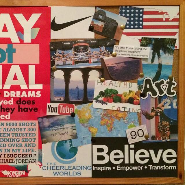 how to make a vision board for students