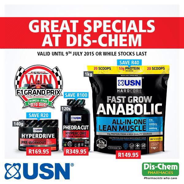 """USN SA on Twitter: """"Visit @Dischem stores this weekend to ..."""