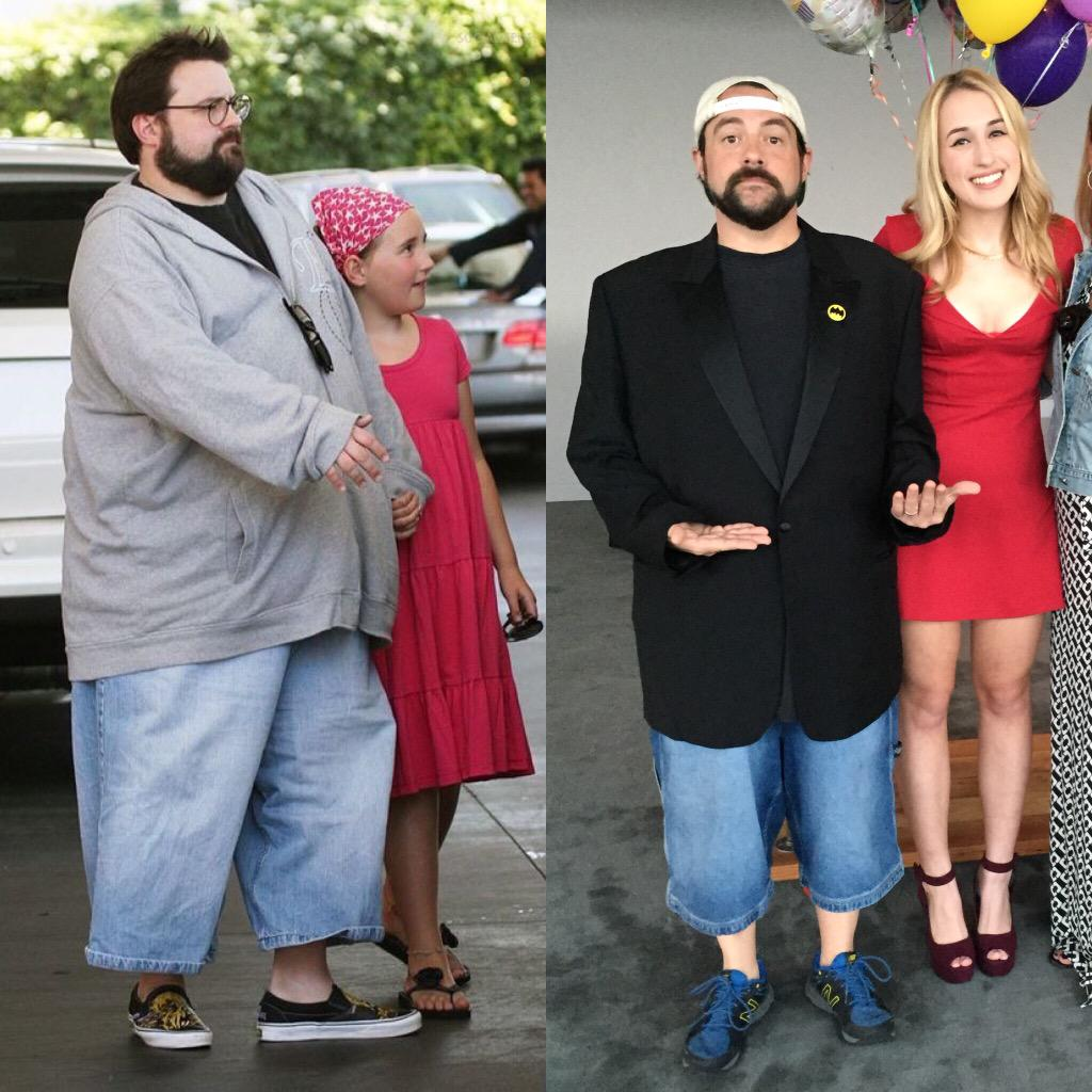 Kevin Smith Shows Incredible 85-Pound Weight Loss In Twitter Photo