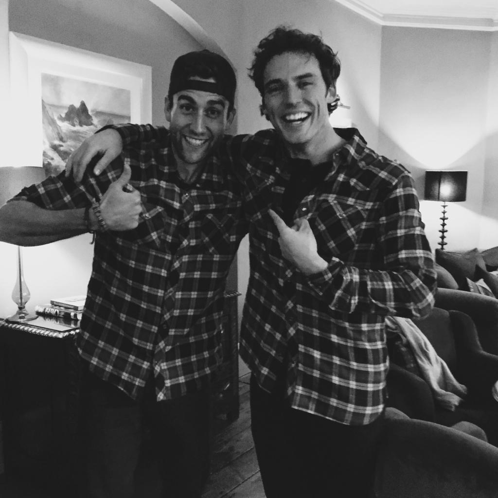 Holy shit, I'm 26? Happy birthday to me. And to my best friend from the Norfolk area, @samclaflin. #checkshirtbuddies http://t.co/N7BhmTZoBK