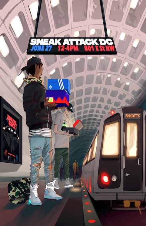 The @SNKATTK is in full effect! Join Us #SneakerHeads! http://t.co/4Bi7w0USPz #DC http://t.co/frGXGx4mez