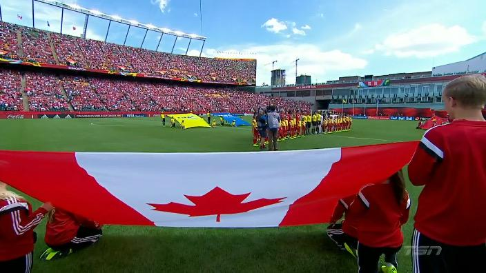 Today we promise to #StandOnGuardForThee   Together, let's do this CANADA. #CanadaRED http://t.co/r6zV77a0Hl