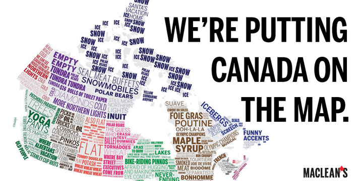 Macleans Magazine on Twitter Putting Canada on the map 22 maps