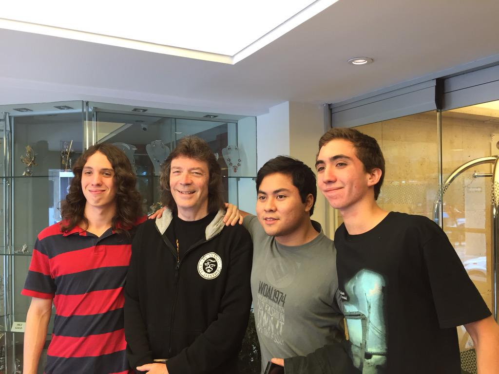 Steve hackett on twitter it was great to meet guys from talented steve hackett on twitter it was great to meet guys from talented peruvian band the magical fox in lima httptbrwgkeyvmp m4hsunfo