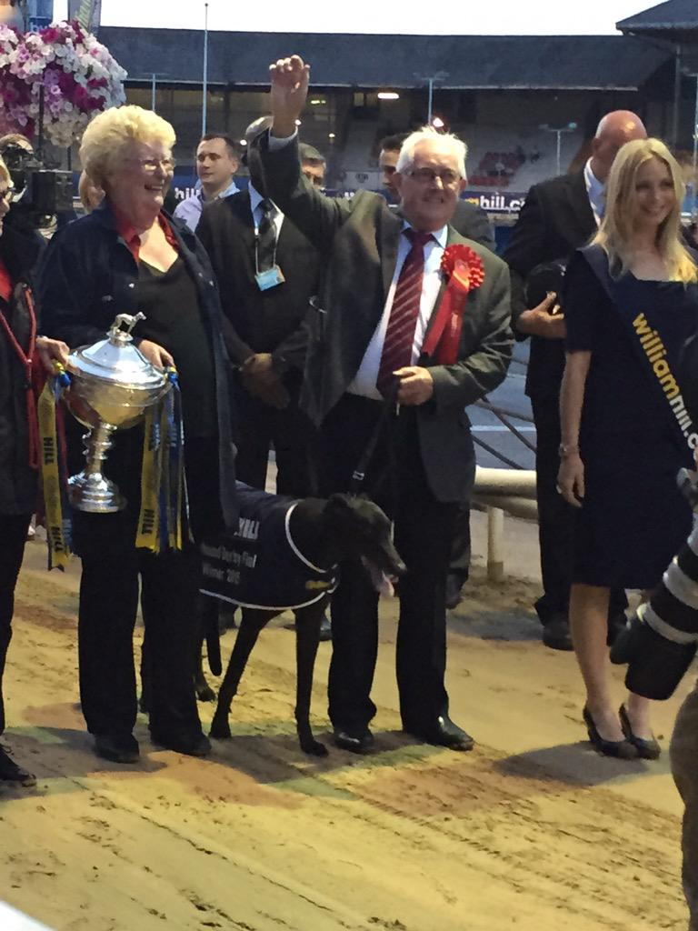 Congratulations William Hill Greyhound Derby winner Rio Quattro and his connections http://t.co/IVRL5N71EP