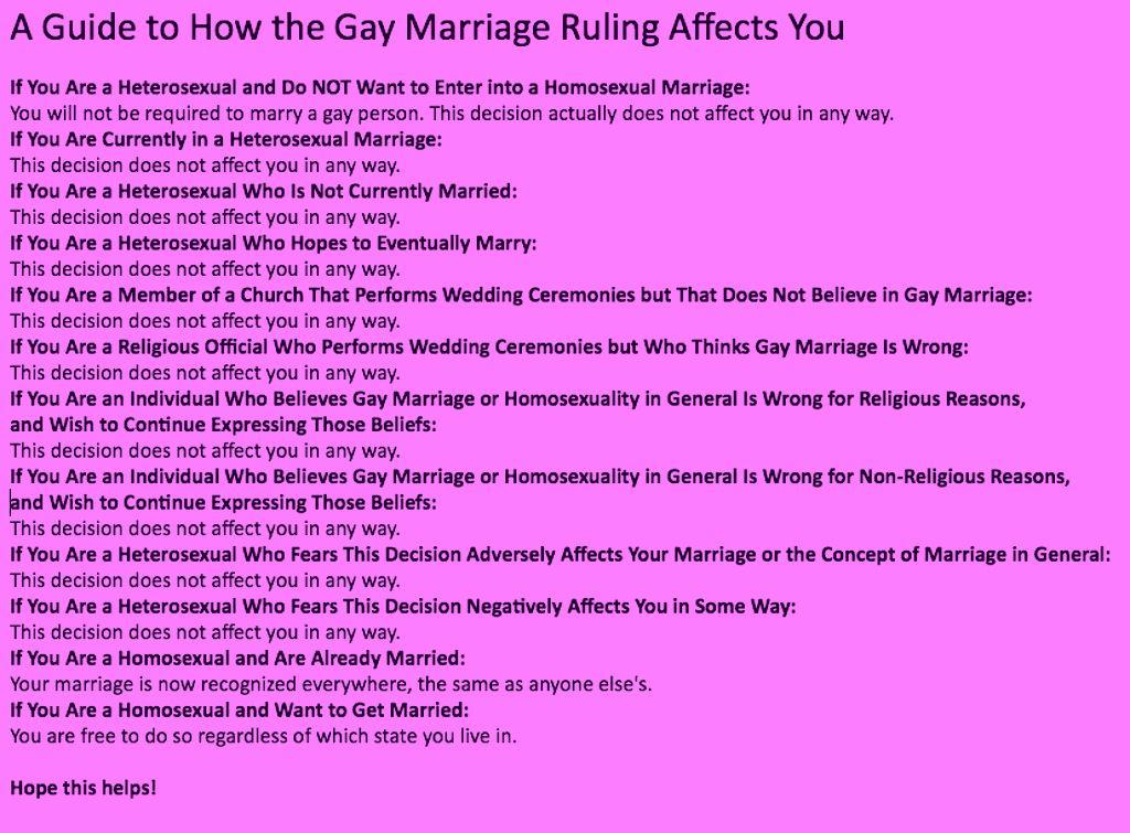 Gay Marriage Procon